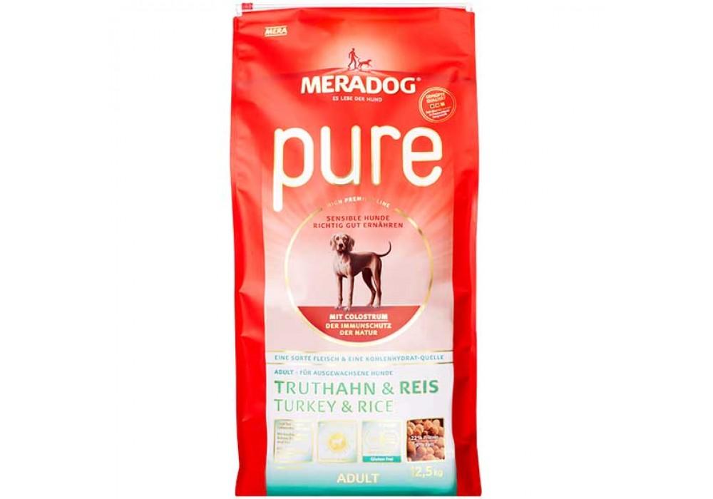 MERADOG Pure Truthahn&Reis