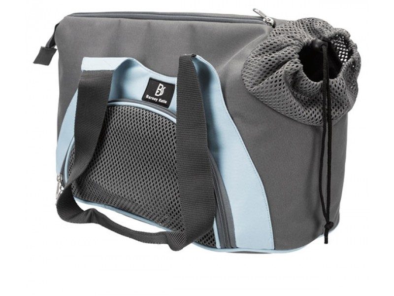 TRIXIE Tasche Scarlett grau/blau bis 6kg (28855)