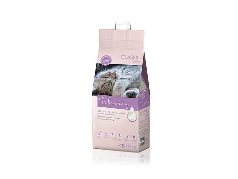 Felicity Katzenstreu CLASSIC pure 20L/12kg Beutel (310892)