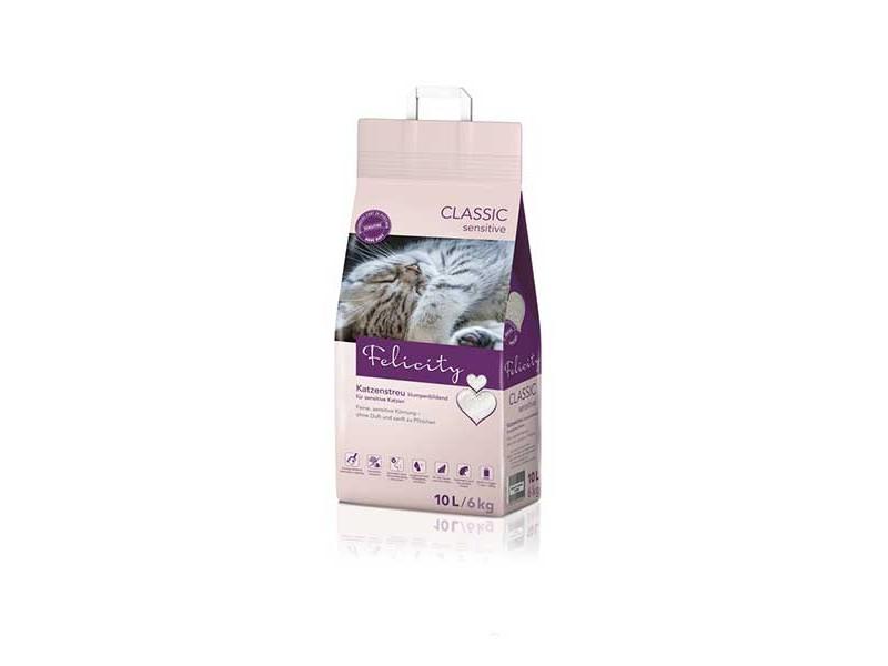 Felicity Katzenstreu CLASSIC sensitive 10L/6kg Beutel (310894)