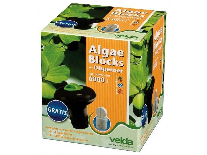Velda Algae Block + Dispenser 4 Blocks (122422) Algentabletten (Restbestand)