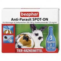beaphar Anti-Parasit SPOT-ON für Kleinnager & Zierkaninchen 300-700g