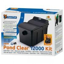SuperFish Pond Clear Kit 12000 UVC 13W Teichfilterset (06020240)