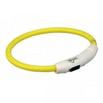 TRIXIE USB Flash Leuchtring gelb