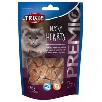 TRIXIE PREMIO Ducky Hearts 50g Snack Katze (42705)