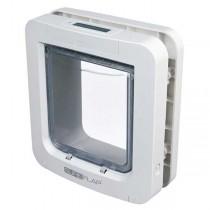 SureFlap Freilauftür mit Mikrochip-Erkennung weiß (26,2 × 28,1 cm)