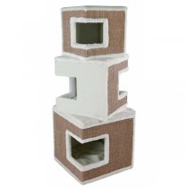 TRIXIE Cat Tower Lilo 123cm weiß/braun