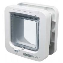 SureFlap Freilauftür mit Mikrochip-Erkennung weiß (21 × 21 cm)