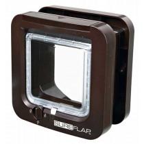 SureFlap Freilauftür mit Mikrochip-Erkennung braun (21 × 21 cm)