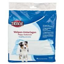TRIXIE Welpen Unterlage Nappy 60x60cm 10St. (23412)