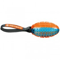 TRIXIE Push to Mute Rugbyball 27cm, TPR