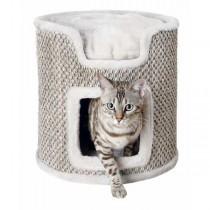 TRIXIE Cat Tower Ria ø 37 cm/ 37cm lichtgrau/natur