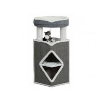 TRIXIE Cat Tower Arma 98cm grau/weiß/grau