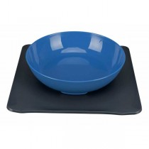 TRIXIE Yummynator Napfsystem 850 ml/24 × 24 cm blau/grau