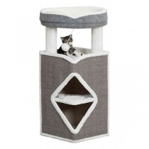 TRIXIE Cat Tower Arma 98cm grau/weiß (44427)