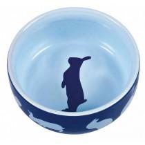 TRIXIE Napf Keramik 250ml Kaninchenmotiv (60733)