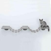 TRIXIE Kletterleiter 150x30 cm taupe Wandmontage (49930)
