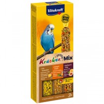 Vitakraft Kräcker® Mix + Ei / Frucht / Honig Wellensittich 3St./80g (21231)
