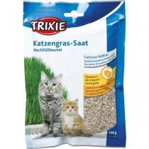 TRIXIE Katzengras Softgras 100g