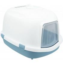 TRIXIE Katzentoilette Primo XXL Top blau/weiß (40177)