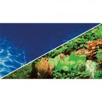 HOBBY Foto-Rückwand Pflanzen 8/Marin Blue 40cm hoch (30997) pro Meter