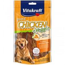 CHICKEN + Veggie, Karotten-Hühnchen-Sticks