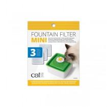 Catit Ersatzfilter 3 St. für Blumentrinkbrunnen Mini Flower Fountain (44005)