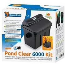 SuperFish Pond Clear Kit 6000 UVC 7W Pumpe Teichfilterset (06020235)
