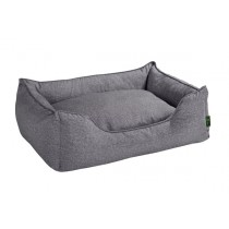Hundesofa Boston grau