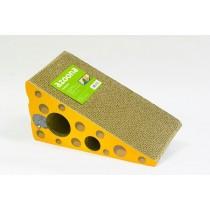 azoona Kratzspielzeug dreieckig Käse Wellkarton (1006639)