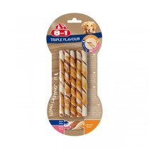 8in1 Triple Flavour Twisted Sticks 10St. (144601)