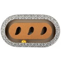 azoona Kratzbrett Kork Oval 46x25x5,5cm (712660)
