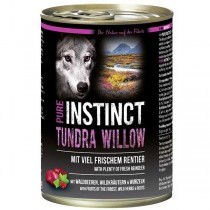 PURE INSTINCT Tundra Willow Dose mit Rentier