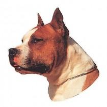 TRIXIE Aufkleber American Staffordshire Terrier (Restbestand)