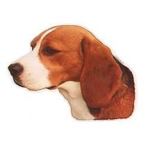 Aufkleber Beagle