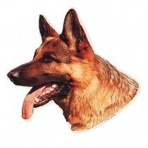 TRIXIE Aufkleber Schäferhund Deutscher (Restbestand)