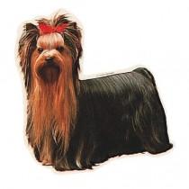 TRIXIE Aufkleber Yorkshire Terrier (Restbestand)