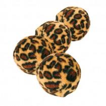 Spielbälle mit Leopardenmuster