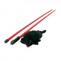 TRIXIE Spielangel Kitty Dangler 100cm mit Maus