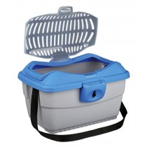 Mini Capri Transportbox grau