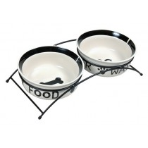 Keramiknapf-Set Eat on Feet
