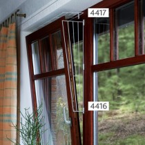 Kippfenster Schutzgitter eckig