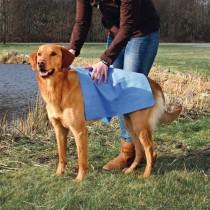 Handtuch blau use