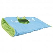 Knistersack blau/grün