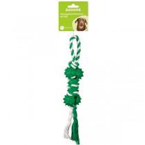 Knochen am Seil 28cm grün
