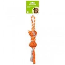 Knochen am Seil 28cm orange