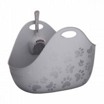 LitterBox Katzentoilette grau