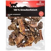 MAJESTIC Hundesnack 100% Straußenfleisch