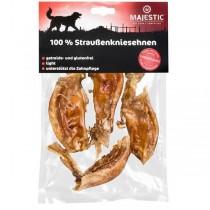 MAJESTIC Hundesnack 100% Straußenkniesehnen 200g (610885)
