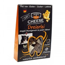 QCHEFS Cheese Dreierlei Dental Käsesnack 65g